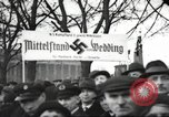 Image of National Socialist Factory Cell Organization gathering in Berlin Berlin Germany, 1933, second 44 stock footage video 65675061179