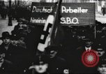 Image of National Socialist Factory Cell Organization gathering in Berlin Berlin Germany, 1933, second 45 stock footage video 65675061179