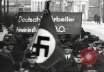 Image of National Socialist Factory Cell Organization gathering in Berlin Berlin Germany, 1933, second 49 stock footage video 65675061179
