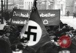 Image of National Socialist Factory Cell Organization gathering in Berlin Berlin Germany, 1933, second 50 stock footage video 65675061179
