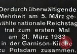Image of New Reichstag holds first meeting in Garrison Church, Potsdam Potsdam Germany, 1933, second 2 stock footage video 65675061181