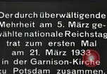 Image of New Reichstag holds first meeting in Garrison Church, Potsdam Potsdam Germany, 1933, second 11 stock footage video 65675061181