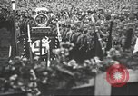 Image of Adolf Hitler speaks to crowd of workers at Gera, Thuringia, Germany Gera Germany, 1932, second 27 stock footage video 65675061185
