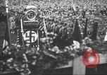 Image of Adolf Hitler speaks to crowd of workers at Gera, Thuringia, Germany Gera Germany, 1932, second 28 stock footage video 65675061185