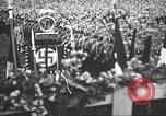 Image of Adolf Hitler speaks to crowd of workers at Gera, Thuringia, Germany Gera Germany, 1932, second 29 stock footage video 65675061185