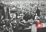 Image of Adolf Hitler speaks to crowd of workers at Gera, Thuringia, Germany Gera Germany, 1932, second 30 stock footage video 65675061185