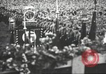 Image of Adolf Hitler speaks to crowd of workers at Gera, Thuringia, Germany Gera Germany, 1932, second 31 stock footage video 65675061185