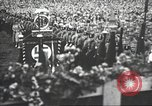 Image of Adolf Hitler speaks to crowd of workers at Gera, Thuringia, Germany Gera Germany, 1932, second 32 stock footage video 65675061185