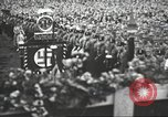 Image of Adolf Hitler speaks to crowd of workers at Gera, Thuringia, Germany Gera Germany, 1932, second 34 stock footage video 65675061185