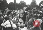 Image of Adolf Hitler speaks to crowd of workers at Gera, Thuringia, Germany Gera Germany, 1932, second 35 stock footage video 65675061185