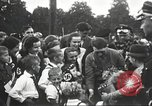 Image of Adolf Hitler speaks to crowd of workers at Gera, Thuringia, Germany Gera Germany, 1932, second 36 stock footage video 65675061185