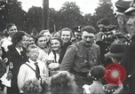 Image of Adolf Hitler speaks to crowd of workers at Gera, Thuringia, Germany Gera Germany, 1932, second 41 stock footage video 65675061185