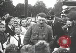 Image of Adolf Hitler speaks to crowd of workers at Gera, Thuringia, Germany Gera Germany, 1932, second 42 stock footage video 65675061185