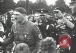 Image of Adolf Hitler speaks to crowd of workers at Gera, Thuringia, Germany Gera Germany, 1932, second 43 stock footage video 65675061185