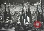 Image of Adolf Hitler speaks to crowd of workers at Gera, Thuringia, Germany Gera Germany, 1932, second 44 stock footage video 65675061185