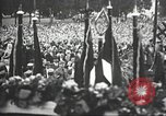 Image of Adolf Hitler speaks to crowd of workers at Gera, Thuringia, Germany Gera Germany, 1932, second 45 stock footage video 65675061185