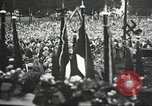 Image of Adolf Hitler speaks to crowd of workers at Gera, Thuringia, Germany Gera Germany, 1932, second 46 stock footage video 65675061185