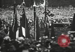 Image of Adolf Hitler speaks to crowd of workers at Gera, Thuringia, Germany Gera Germany, 1932, second 47 stock footage video 65675061185