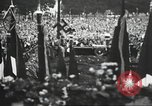 Image of Adolf Hitler speaks to crowd of workers at Gera, Thuringia, Germany Gera Germany, 1932, second 48 stock footage video 65675061185