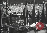 Image of Adolf Hitler speaks to crowd of workers at Gera, Thuringia, Germany Gera Germany, 1932, second 49 stock footage video 65675061185