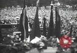 Image of Adolf Hitler speaks to crowd of workers at Gera, Thuringia, Germany Gera Germany, 1932, second 50 stock footage video 65675061185