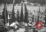 Image of Adolf Hitler speaks to crowd of workers at Gera, Thuringia, Germany Gera Germany, 1932, second 51 stock footage video 65675061185