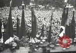 Image of Adolf Hitler speaks to crowd of workers at Gera, Thuringia, Germany Gera Germany, 1932, second 53 stock footage video 65675061185