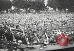 Image of Adolf Hitler speaks to crowd of workers at Gera, Thuringia, Germany Gera Germany, 1932, second 61 stock footage video 65675061185
