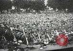 Image of Adolf Hitler speaks to crowd of workers at Gera, Thuringia, Germany Gera Germany, 1932, second 62 stock footage video 65675061185