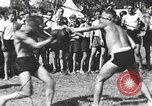 Image of Hitler Youth camp Offenburg Germany, 1942, second 1 stock footage video 65675061198