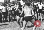 Image of Hitler Youth camp Offenburg Germany, 1942, second 3 stock footage video 65675061198