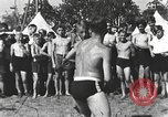 Image of Hitler Youth camp Offenburg Germany, 1942, second 19 stock footage video 65675061198