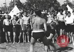 Image of Hitler Youth camp Offenburg Germany, 1942, second 20 stock footage video 65675061198