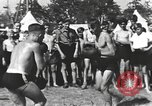 Image of Hitler Youth camp Offenburg Germany, 1942, second 21 stock footage video 65675061198