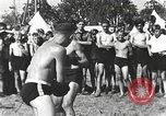 Image of Hitler Youth camp Offenburg Germany, 1942, second 22 stock footage video 65675061198