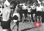 Image of Hitler Youth camp Offenburg Germany, 1942, second 23 stock footage video 65675061198