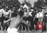 Image of Hitler Youth camp Offenburg Germany, 1942, second 26 stock footage video 65675061198