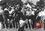 Image of Hitler Youth camp Offenburg Germany, 1942, second 27 stock footage video 65675061198