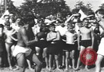 Image of Hitler Youth camp Offenburg Germany, 1942, second 39 stock footage video 65675061198