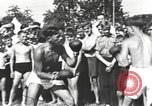 Image of Hitler Youth camp Offenburg Germany, 1942, second 43 stock footage video 65675061198