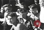 Image of Hitler Youth camp Offenburg Germany, 1942, second 26 stock footage video 65675061199