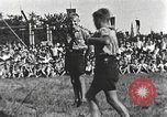 Image of Hitler Youth camp Offenburg Germany, 1942, second 36 stock footage video 65675061200