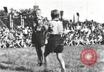 Image of Hitler Youth camp Offenburg Germany, 1942, second 40 stock footage video 65675061200