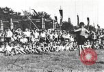 Image of Hitler Youth camp Offenburg Germany, 1942, second 60 stock footage video 65675061200