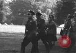 Image of Hitler Youth camp Offenburg Germany, 1937, second 14 stock footage video 65675061202