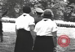 Image of Hitler Youth camp Offenburg Germany, 1937, second 20 stock footage video 65675061202