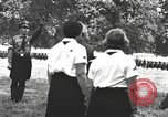 Image of Hitler Youth camp Offenburg Germany, 1937, second 21 stock footage video 65675061202