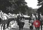 Image of Hitler Youth camp Offenburg Germany, 1937, second 27 stock footage video 65675061202