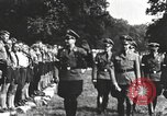 Image of Hitler Youth camp Offenburg Germany, 1937, second 30 stock footage video 65675061202