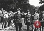Image of Hitler Youth camp Offenburg Germany, 1937, second 31 stock footage video 65675061202